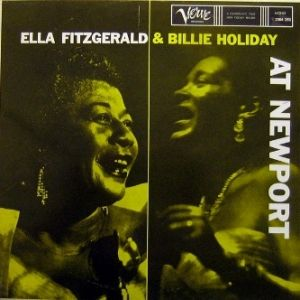 Ella Fitzgerald and Billie Holiday at Newport - album