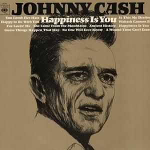 Johnny Cash Happiness Is You, 1966