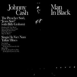 Johnny Cash Man In Black, 1971