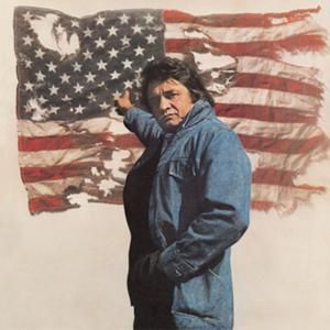 Johnny Cash Ragged Old Flag, 1974