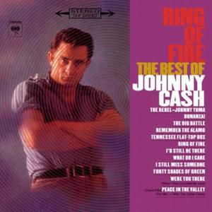 Johnny Cash Ring Of Fire/The Best of Johnny Cash, 1963