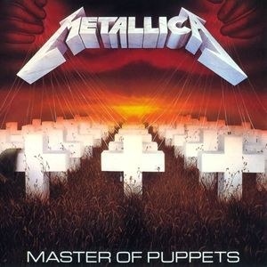 Metallica Master Of Puppets, 1986