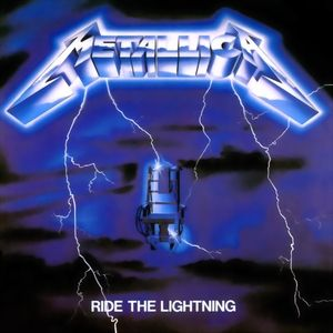 Metallica Ride The Lightning, 1984