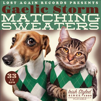 Gaelic Storm Matching Sweaters, 2015