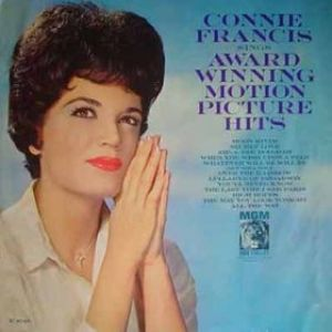Connie Francis Connie Francis sings Award Winning Motion Picture Hits, 1963