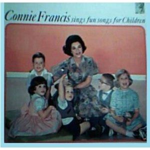 Connie Francis Connie Francis sings Fun Songs For Children, 1959