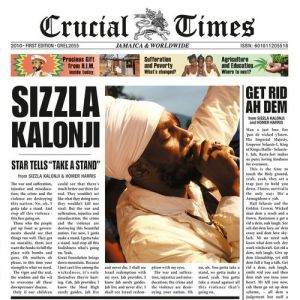 Sizzla Crucial Times, 2010