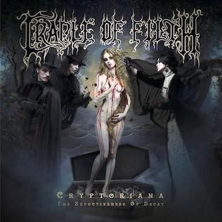 Cradle of Filth Cryptoriana – The Seductiveness of Decay, 2017