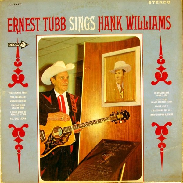 Ernest Tubb Ernest Tubb Sings Hank Williams, 1968