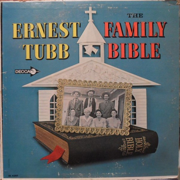 Ernest Tubb The Family Bible, 1963
