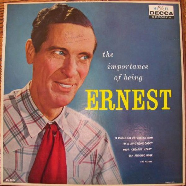 Ernest Tubb The Importance of Being Ernest, 1959