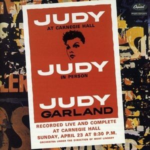 Judy Garland Judy at Carnegie Hall, 1961