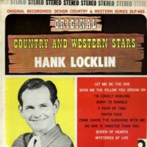 Hank Locklin Send Me the Pillow You Dream On, 1967