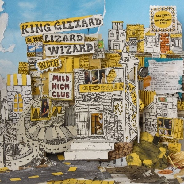 King Gizzard & The Lizard Wizard Sketches of Brunswick East, 2017