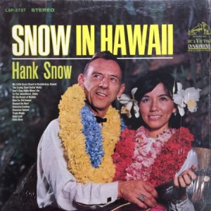 Snow in Hawaii - album