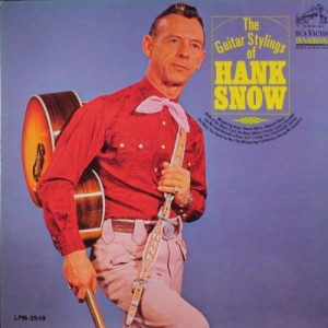 The Guitar Stylings of Hank Snow - album