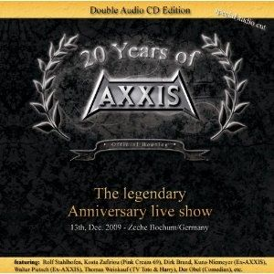 Axxis 20 years of Axxis Live, 2011