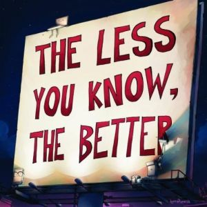 The Less You Know, the Better - album