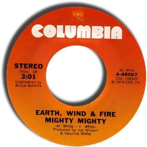 Earth, Wind & Fire Mighty Mighty, 1974