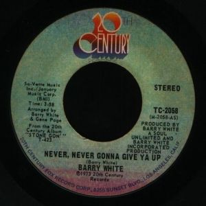 Never, Never Gonna Give Ya Up Album
