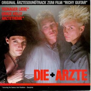 "Original Ärztesoundtrack zum Film ""Richy Guitar"" Album"