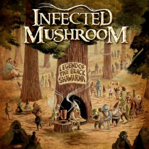 Infected Mushroom Legend of the Black Shawarma, 2009