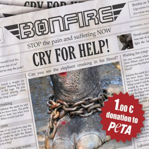 Bonfire Cry For Help EP, 2012