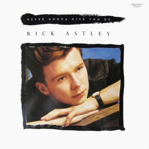 Never Gonna Give You Up Album