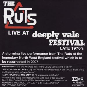 The Ruts Live At Deeply Vale, 2006