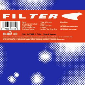 Filter Title of Record, 1999