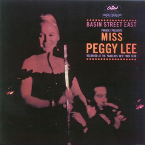 Peggy Lee Basin Street East Proudly Presents Miss Peggy Lee, 1961