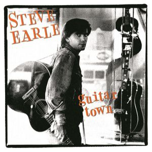 Steve Earle Guitar Town, 1986