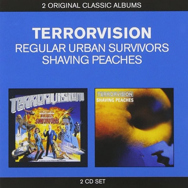 Terrorvision Regular Urban Survivors / Shaving Peaches, 2012