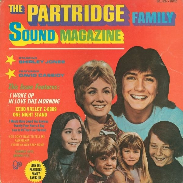 The Partridge Family The Partridge Family Sound Magazine, 1971