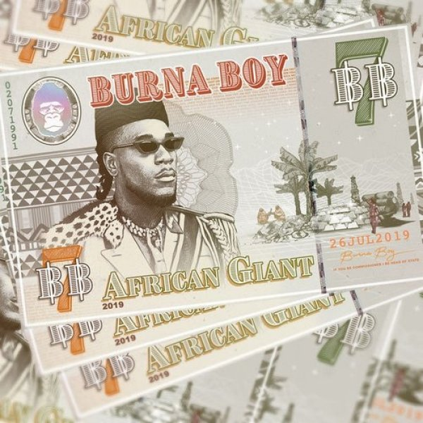 Burna Boy African Giant, 2019
