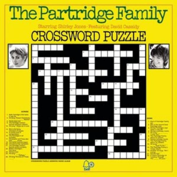 The Partridge Family Crossword Puzzle, 1973