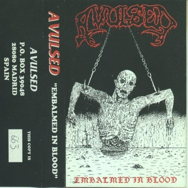 Avulsed Embalmed in Blood, 1992