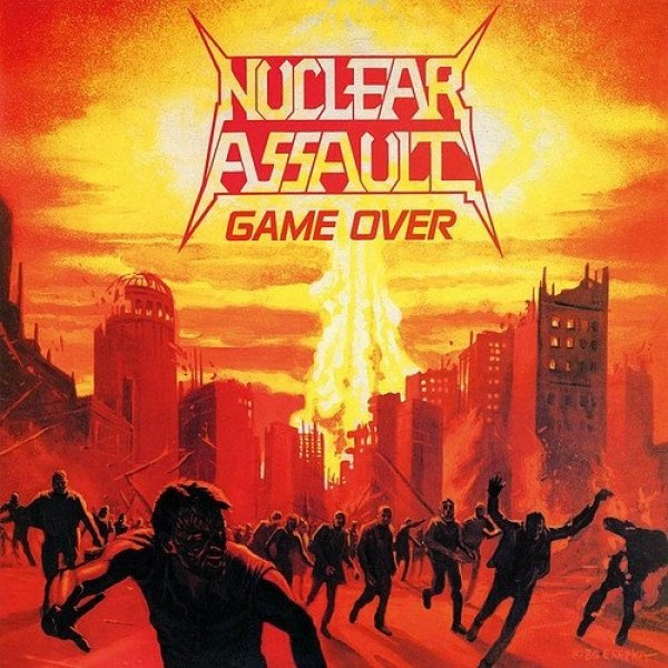 Nuclear Assault Game Over, 1986