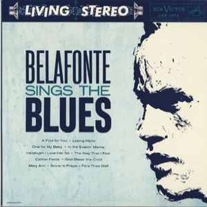 Belafonte Sings the Blues Album