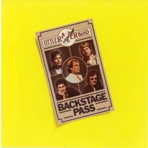 Little River Band Backstage Pass, 1980