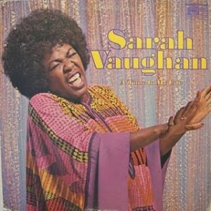Sarah Vaughan A Time in My Life, 1971