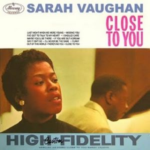 Sarah Vaughan Close to You, 1960