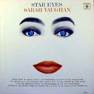 Sarah Vaughan Star Eyes, 1963
