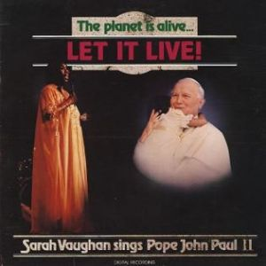 Sarah Vaughan The Planet Is Alive...Let it Live!, 1984