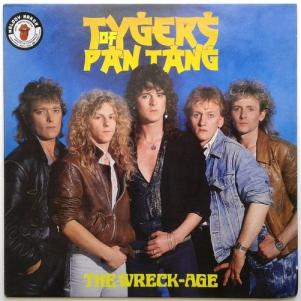 Tygers of Pan Tang The Wreck-Age, 1985